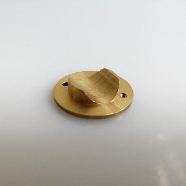 Sztemkó réz adapter kerek